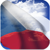 3D Czech Flag Live Wallpaper +