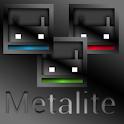 MetaliteBlue ADW APEX NOVA Go icon