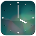 Jelly Bean Analog Clock icon