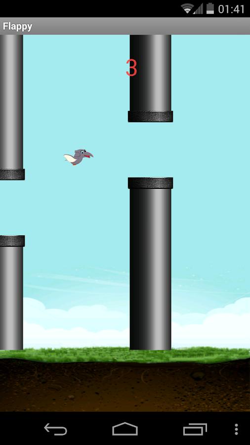 Flappy Dino - screenshot