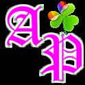 GOLauncherEx Theme AdeaPink logo