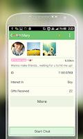Screenshot of Matcha theme for SayHi!