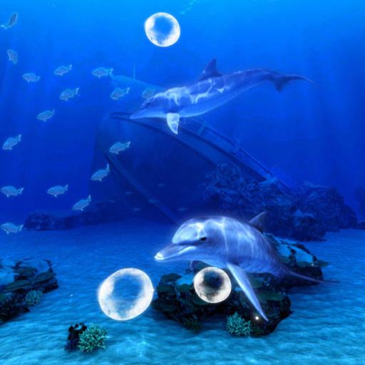 Blue Sea ~イルカの祈り~ 個人化 App LOGO-APP試玩