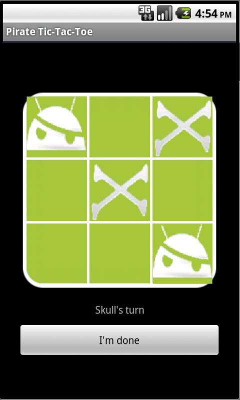 Pirate TicTacToe- screenshot
