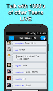 Teen Chat - screenshot thumbnail