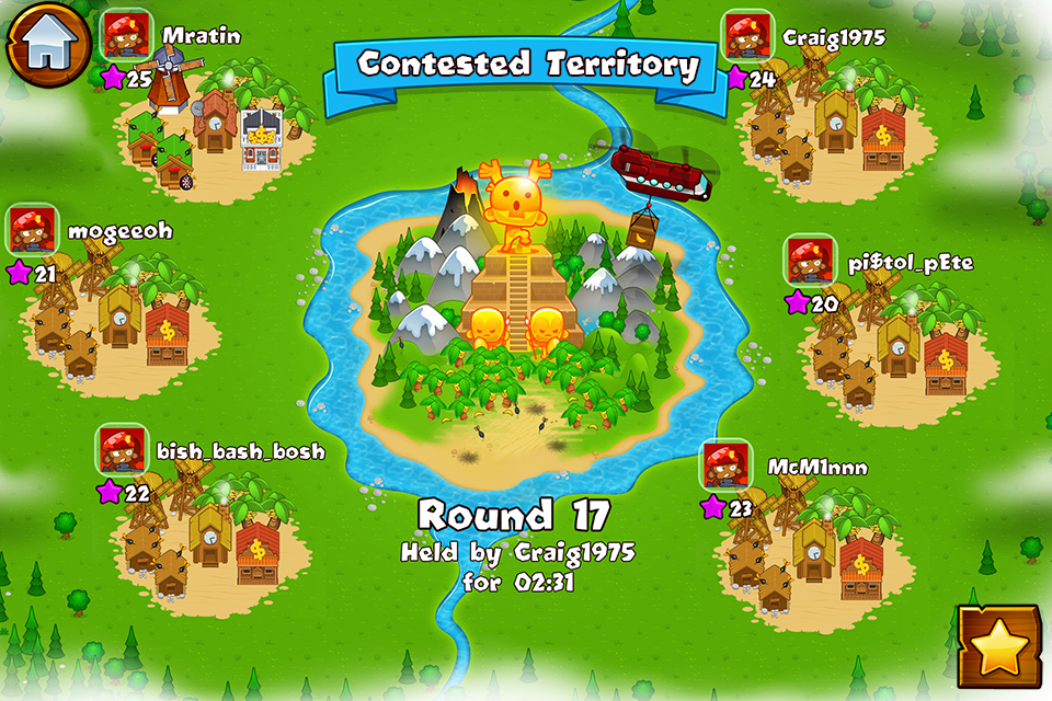 #4. Bloons Monkey City (Android)