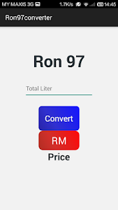 Petrol Price Converter screenshot 1