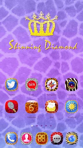 Shining Diamond GO Theme