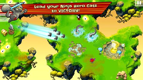 Ninja Hero Cats Screenshot 1