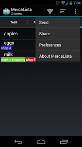 MercaLista screenshot 2