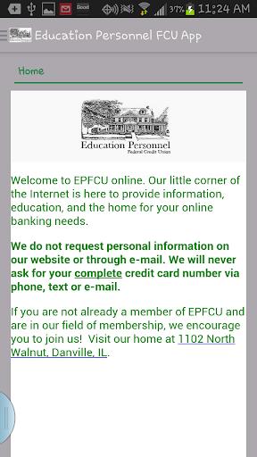 Education Personnel FCU