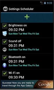 Settings Scheduler - screenshot thumbnail