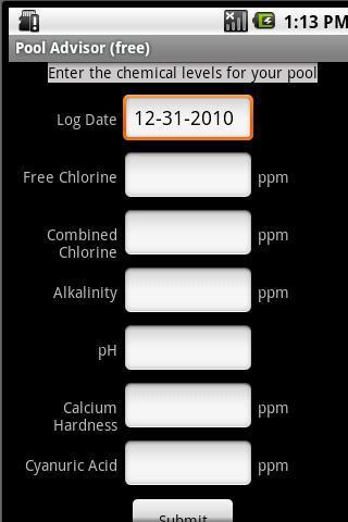 Pool Advisor- screenshot