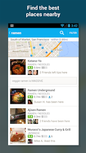 Foursquare - screenshot thumbnail
