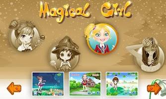 Screenshot of Girls games - Magic 4 in 1
