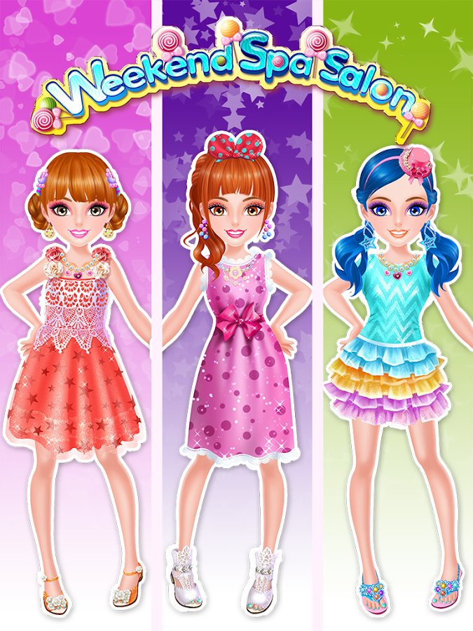 Swell Weekend Spa Salon Girls Games Android Apps On Google Play Hairstyle Inspiration Daily Dogsangcom