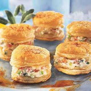 Crab Appetizer Napoleons.