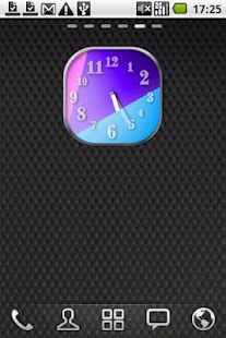 Colourful Clock Widget