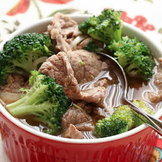 Chinese Beef and Broccoli Soup.