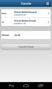 Virtual Wallet by PNC - screenshot thumbnail