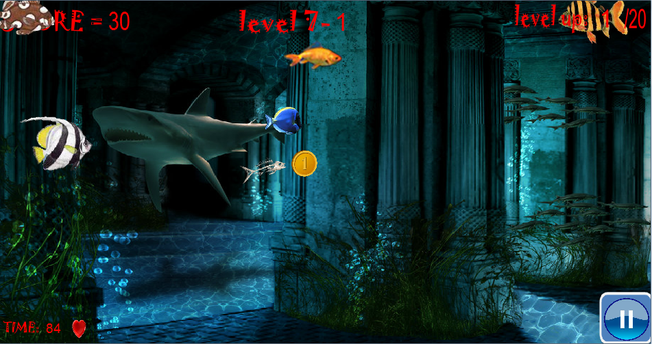 fish game - screenshot