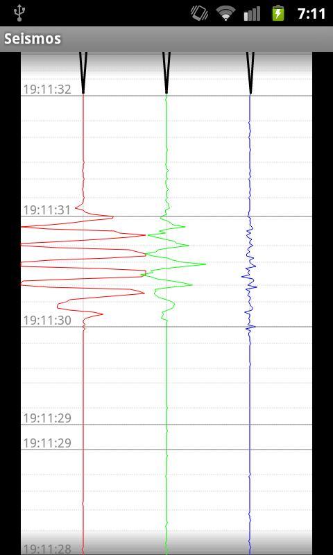 Seismos- screenshot