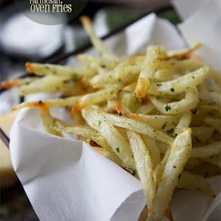 Double-Baked Crazy-Crisp Parmesan Oven Fries