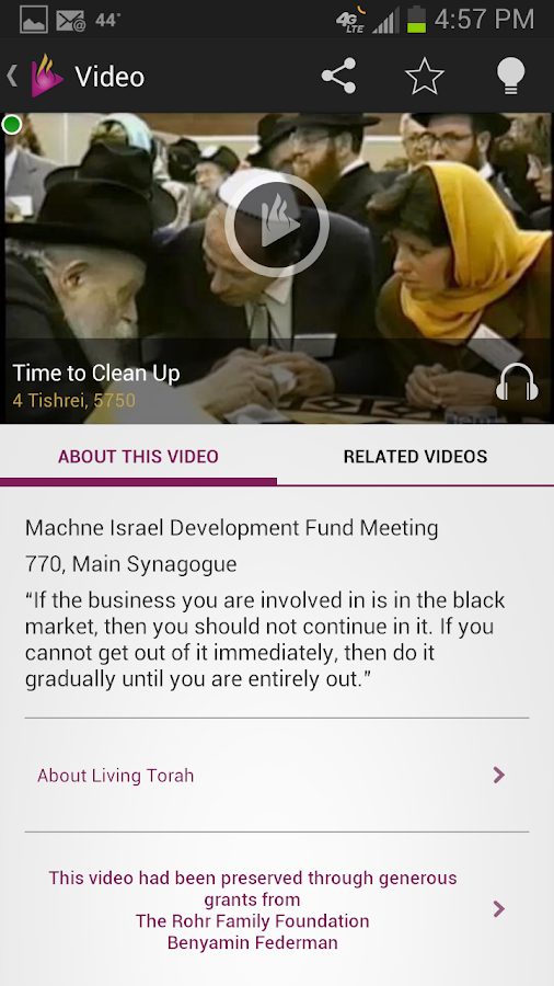Living Torah- screenshot