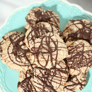 German Chocolate Macaroons (Low Calorie, Low Fat, Gluten Free).