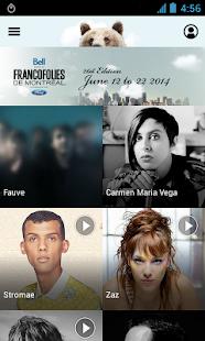 FrancoFolies de Montréal 2014 - screenshot thumbnail