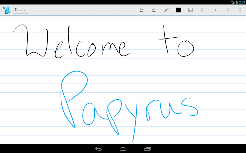 Papyrus - Natural Note Taking - screenshot thumbnail