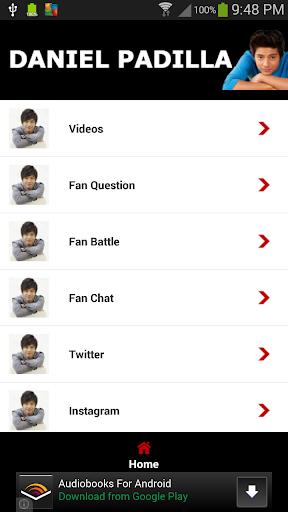Daniel Padilla Fan App
