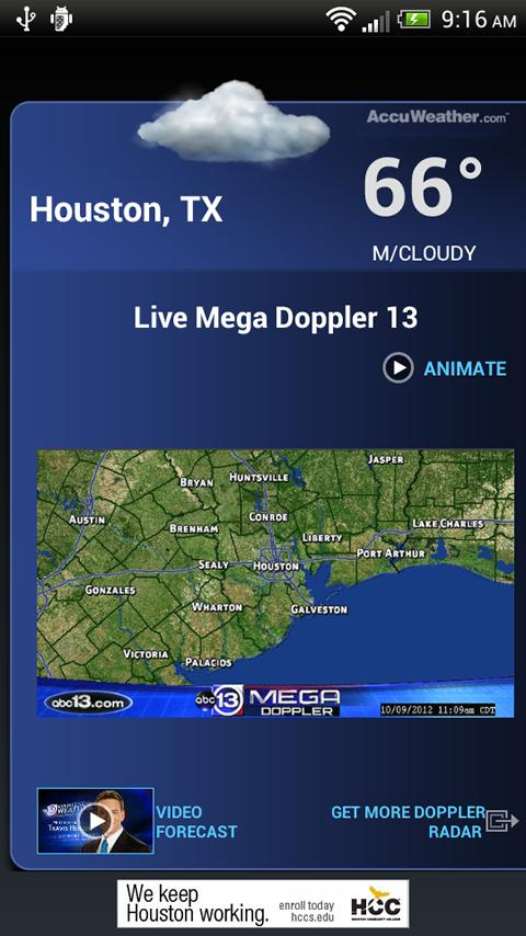 ABC13 Houston Alarm Clock - screenshot