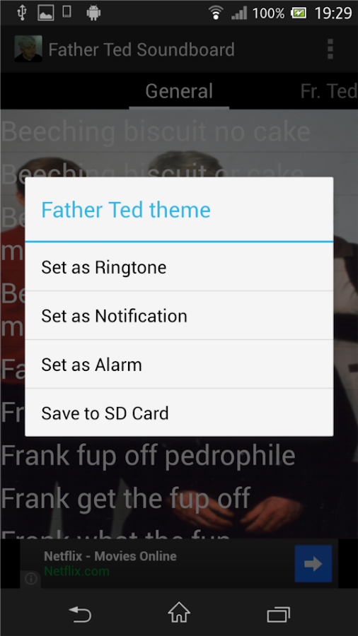 Father Ted Soundboard - screenshot