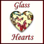 Hearts Gift App - Glass Hearts