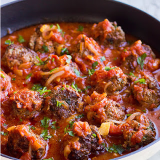 Ingredients List for Turkey Meatballs with Spicy Tomato Sauce