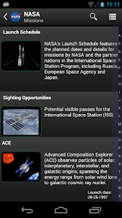 NASA App- screenshot thumbnail
