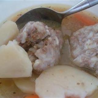 Albondigas Soup III