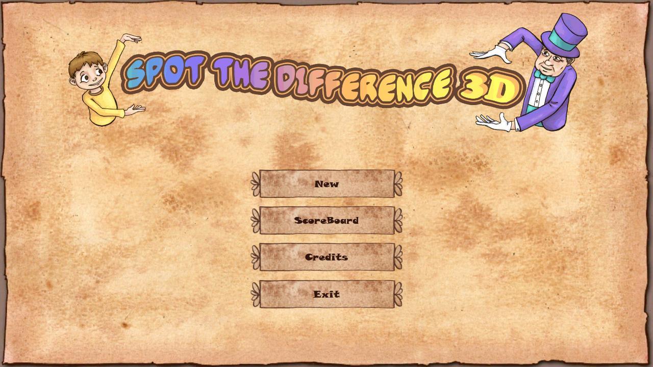 Spot The Difference 3D- screenshot