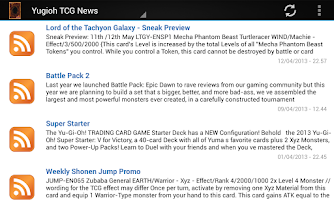 Screenshot of Helper for Yu-Gi-Oh!