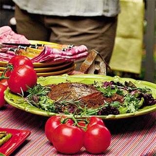 Rosemary Grilled Flank Steak