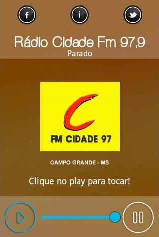 Rádio Cidade Fm 97 9
