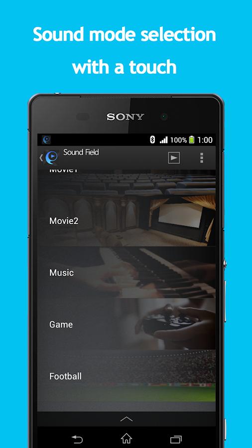 SongPal:Bluetooth/Wi-Fi remote - screenshot
