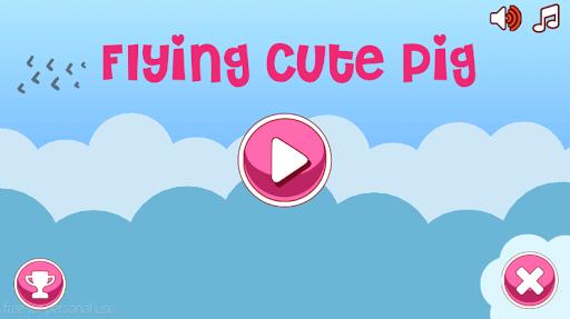 Flying Cute Pig