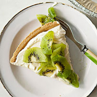 Kiwi-Lemon Cheesecake.