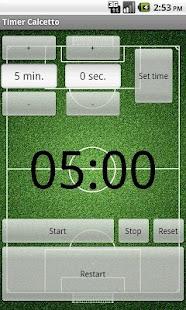 Timer Street Soccer- screenshot thumbnail