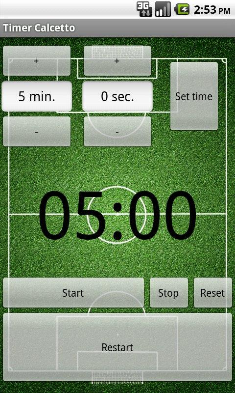 Timer Street Soccer- screenshot