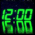 LED clock widget icon