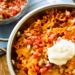 One Pot Enchilada Pasta