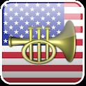 U.S. Military Bugle Ringtones logo